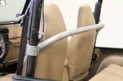 Jeep - Jeep CJ 55-86 - Rock Hard 4x4 - ROCK HARD 4X4™ FRONT SEAT HARNESS BAR FOR JEEP CJ5 1979 - 1983